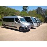 preço de transportes de vans Água Rasa