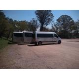 preço de vans para excursão empresa Anália Franco