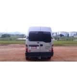 quanto custa alugar van com motorista para viagem Vila Esperança