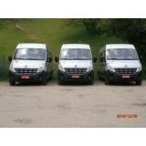 quanto custa alugar vans para translado Santa Cecília