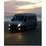 quanto custa aluguel de vans para praia Jaguaré