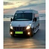 quanto custa locação de vans com motorista Vila Maria