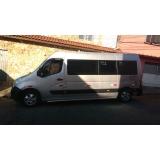 quanto custa locação de vans para transporte Vila Medeiros