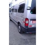 quanto custa locação de vans para viagens Vila Carrão