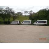 quanto custa transporte com vans empresarial Parque São Domingos