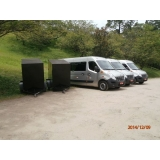 quanto custa transporte com vans para empresas Perdizes