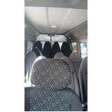 quanto custa transporte de van para festas Jaraguá