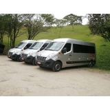 quanto custa vans para eventos corporativos Parque do Carmo