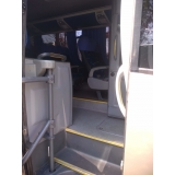 serviço de ônibus executivo Ponte Rasa