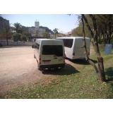 serviço de van equipada para viagem Vila Prudente