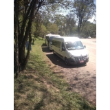 serviço de van para alugar com motorista Jardim Europa
