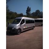 serviço de van para eventos Campo Grande