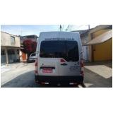 serviço de van para transporte Parque do Carmo