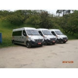 serviço de vans para translado de feiras promocionais Saúde