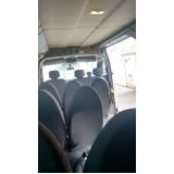 serviço de vans para transporte de passageiros Vila Ré