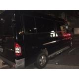 serviço de vans para transporte de pessoas em velório Jockey Club
