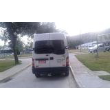 serviço de vans para transporte para eventos Água Branca
