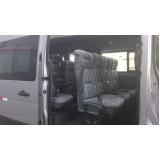 serviço de vans para traslados para alugar Alto da Lapa