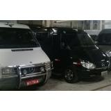 serviços de vans executivas Cidade Jardim