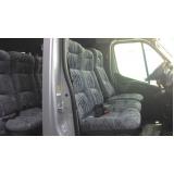 transporte com vans empresarial preço Higienópolis