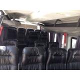 transporte com vans empresarial Cidade Jardim