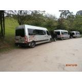 transporte com vans para empresas Rio Pequeno