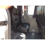 transporte com vans para turismo preço Itaim Bibi