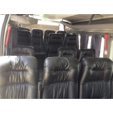 transporte com vans para viagem preço Jardim América