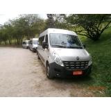 transporte com vans para viagem Vila Ré