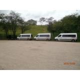 transporte com vans empresarial