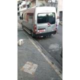 transporte de van para eventos sociais José Bonifácio