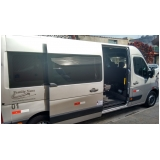 transporte de van para eventos Interlagos