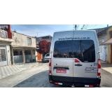 transporte de van para formatura Santa Efigênia