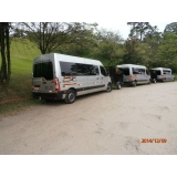 transporte de van para praia grande Vila Gustavo