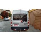 transporte de van para shows em sp Água Rasa