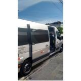 transporte de van para eventos