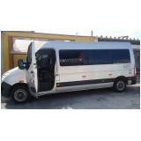 transporte de van para festas de casamento