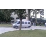 alugar van para viagem com motorista
