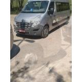 transporte executivo minivan