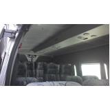 transporte turístico de vans preço Pari