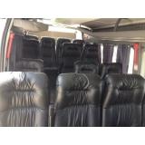 transporte turístico de vans Capão Redondo