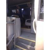 transporte de executivos ônibus