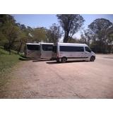 transportes executivos com vans Parque do Carmo