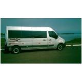 van para transportes de passageiros Pinheiros