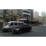 vans para grupo de passageiros Campo Belo