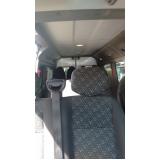 vans para transporte de pessoas preço Capão Redondo