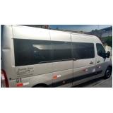 vans para transporte de pessoas Vila Dalila