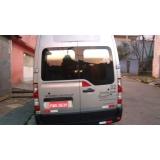vans para transporte em feiras promocionais preço Interlagos