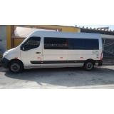 vans para transporte executivo Parque São Rafael