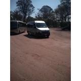 transporte de passageiros em vans